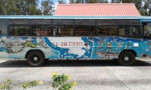 Les scènes de vie sont même sur les bus