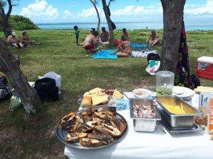 Grillade, dégustation et farniente à l'île aux Chats