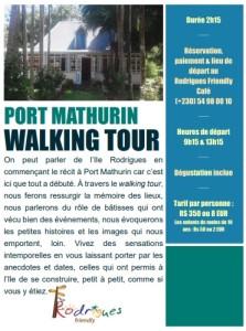 Port Mathurin Walking Tour affiche